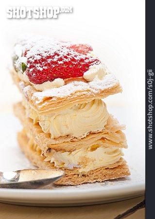 Cake, Custard Slice