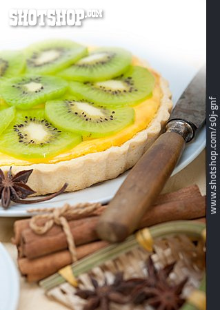 Kiwi, Fruit Pie