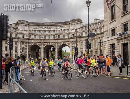 Sports Event, Admiralty Arch, Prudential Ridelondon