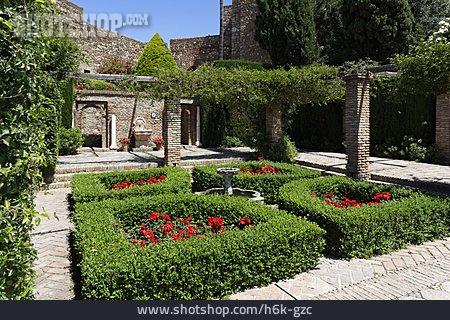Park, Malaga, Alcazaba