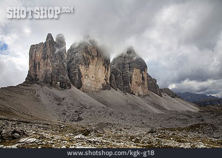 Mountains, Sexten Dolomites, Three Peaks