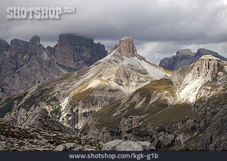 Sexten Dolomites, Schwaben Alpine Head