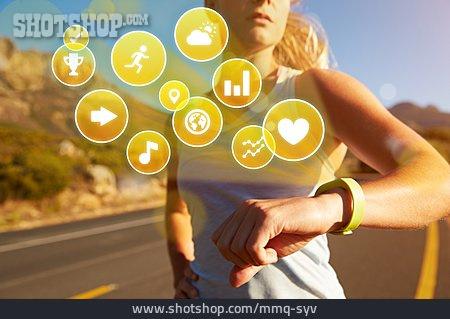 Network, Sportswoman, App