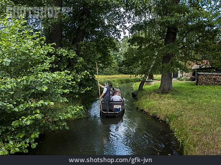 Spree Forest, Spree River, Boating