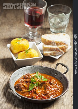 Meal, Lunch, Goulash
