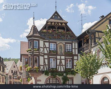 Alsace, Timbered, Kaysersberg