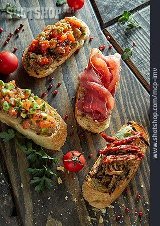 Appetizer, Bruschetta, Hearty