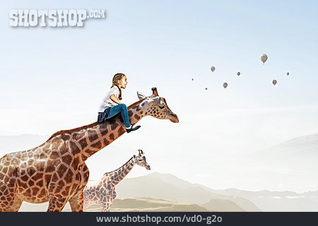 Dreams, Childhood, Giraffe