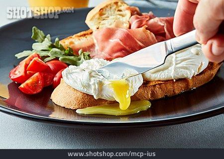 Breakfast, Poached, Eggs Benedict