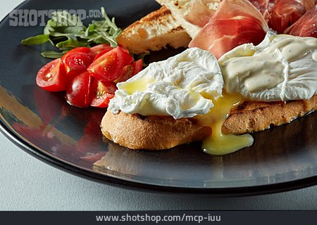 Breakfast, Picnic, Eggs Benedict