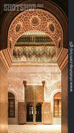 Oriental, Palace, Morocco, Telouet