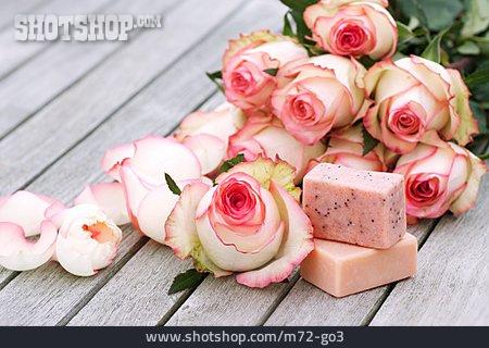 Bar Of Soap, Soap Rose