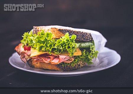 Snack, Bun, Sandwich