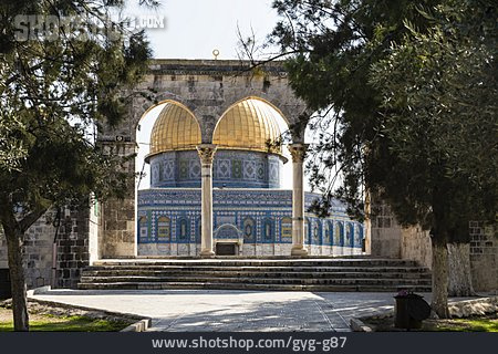 Temple Mount, Dome Of The Rock