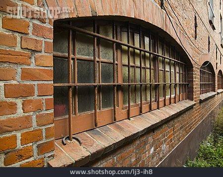 Prison, Lattice Window, Grate
