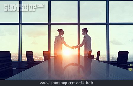 Cooperation, Business Partnership, Deal