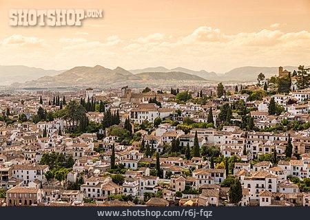 Sea Of Houses, Granada, Albaicin