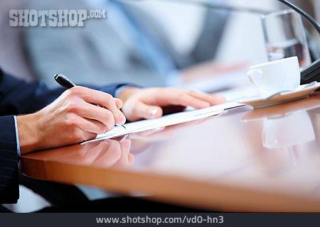 Meeting, Signature, Deal