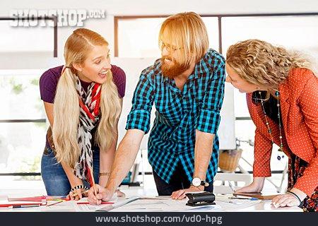 Meeting & Conversation, Team, Staff, Colleagues