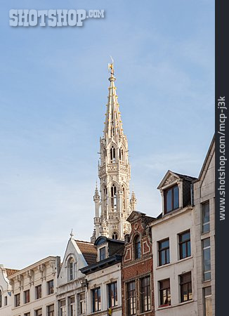 Town Hall, Town Hall Tower, Brussels