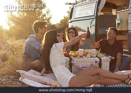Friendship, Picnic, Excursion, Lifestyle
