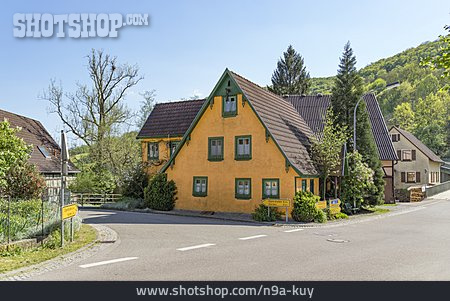 Village, Rural Scene, Bächlingen