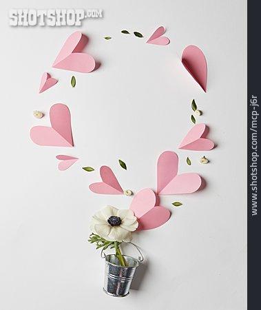 Decoration, Heart, Wind Rose