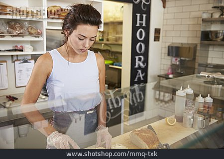 Gastronomy, Snack, Employees, Sandwich Bar