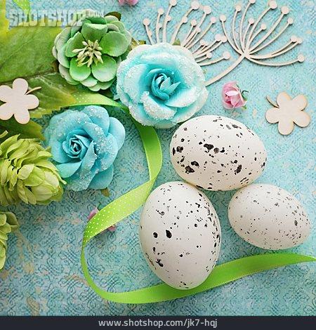 Quail, Easter Decoration