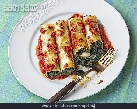 Vegetarian, Cannelloni