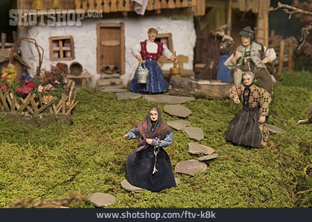 Tradition, Alp, Almdorf