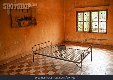 Prison, Prison Cell, Phnom Penh, Tuol-sleng-genozid-museum