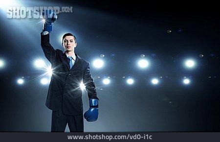 Businessman, Career, Winner, Posing