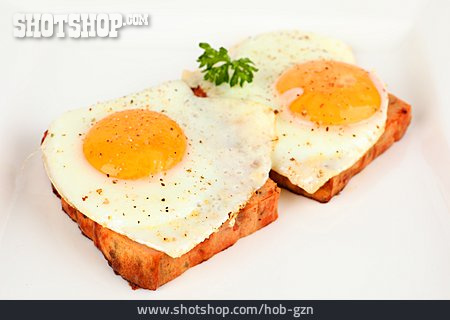 Snack, Fried Egg, Meat Loaf