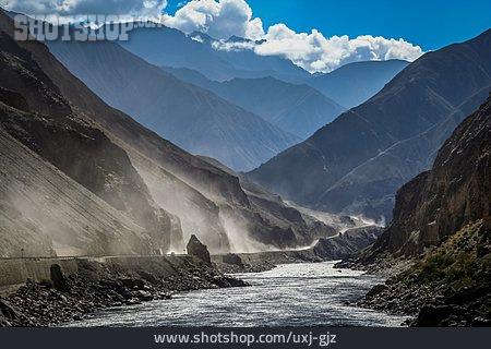 River, Mountainous Region, Yunnan