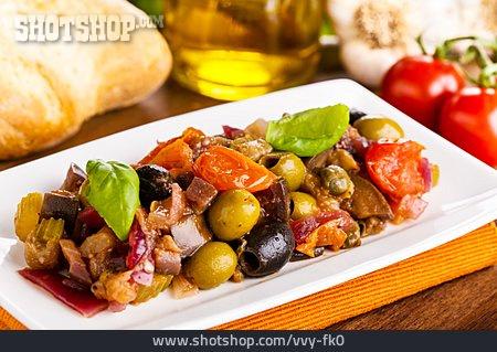 Antipasto, Vegetable Meal, Caponata
