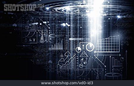 Statistics, Diagram, World Market