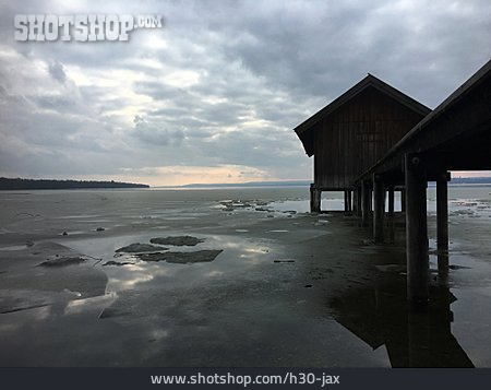 Boathouse, Ammersee