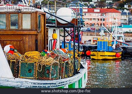 Fishing Boat, Fishing Port, Fish Hoek