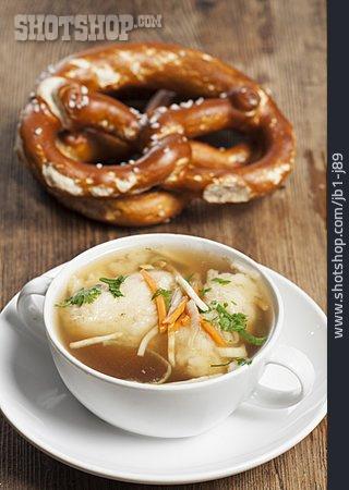 Semolina Dumpling Soup, Semolina Dumplings