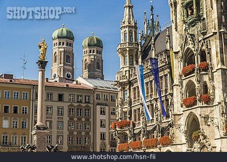 Frauenkirche, Munich, Marienplatz