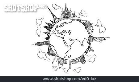 Landmark, Sights, World Trip