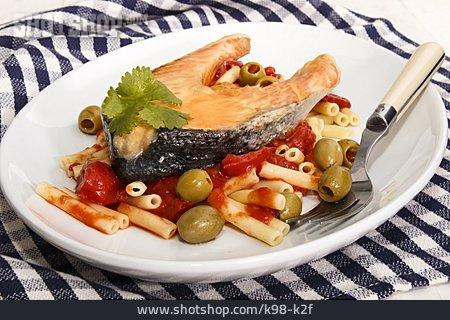 Fish Dish, Salmon Steak