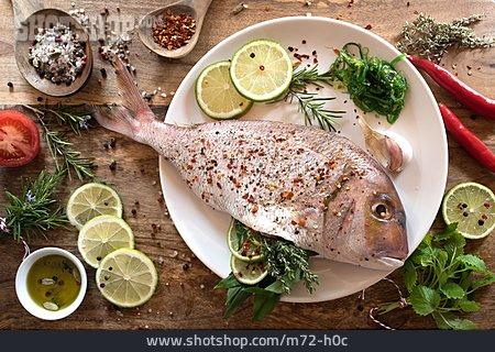 Spices, Ingredient, Raw Fish, Fish Dish
