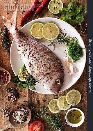 Ingredient, Gilt Head Bream, Fish Dish