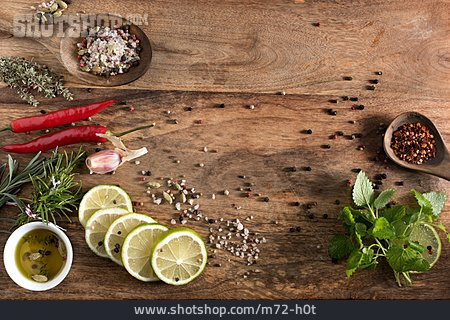 Copy Space, Spices & Ingredients, Cooking