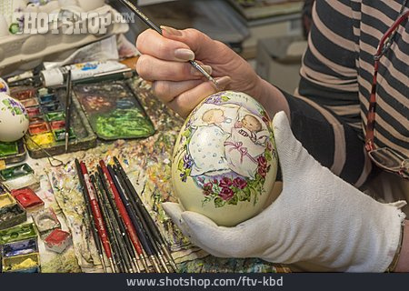 Easter Egg, Customs, Crafts, Painting