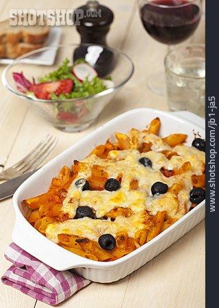 Vegetarian, Noodle Casserole