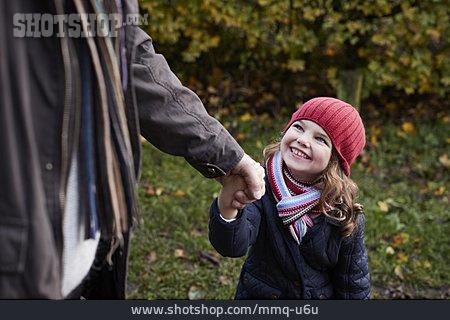 Girl, Autumn, Childhood