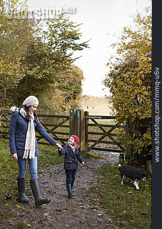 Mother, Walk, Daughter, Walk The Dog
